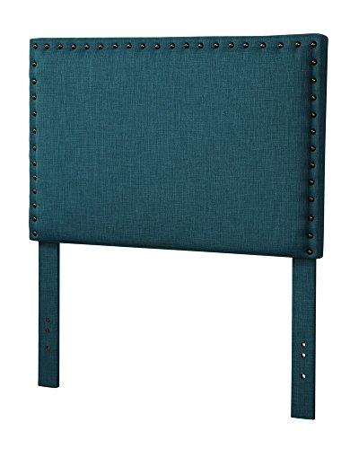 Testate Letto Imbottite A Una Piazza E Mezzo.Acme Furniture Testiera Da Letto Imbottita Per Letti Da Una