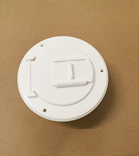 Electric Cable Hatch - Valterra White Electric Power Cord Small Round Cable Hatch 3