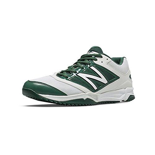 New Balance Turf 4040v3 Synthetic Mesh Mens Cushioning Baseball Shoe White/Green
