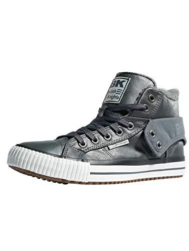 Roco 06 British Herren Grey Hohe Knights Grau Sneaker Dk a7wT6Tnvq
