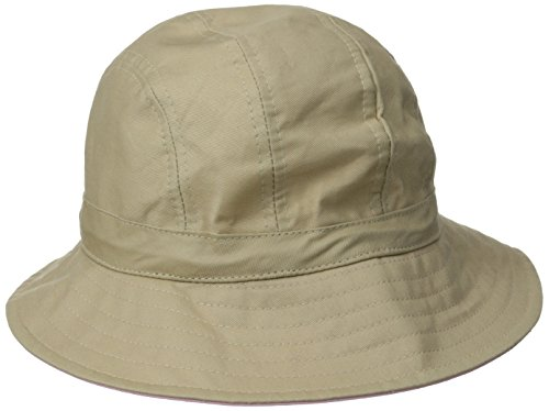 physician-endorsed-womens-b-zee-100-cotton-two-tone-sun-hat-rated-upf-50-for-max-sun-protection-khak