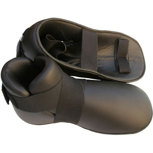Clearance Karate Sparring Foot Pads, Medium (Sparring Shoes Martial Arts)