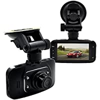 SaferCCTV(TM) HD 1080P Vehicle Car DVR Camera Video Recorder Dash Cam Camcorder G-sensor HDMI Car White box