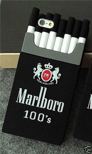 3D Silicon Cigarette Box Shaped Marlboro Back Cover for