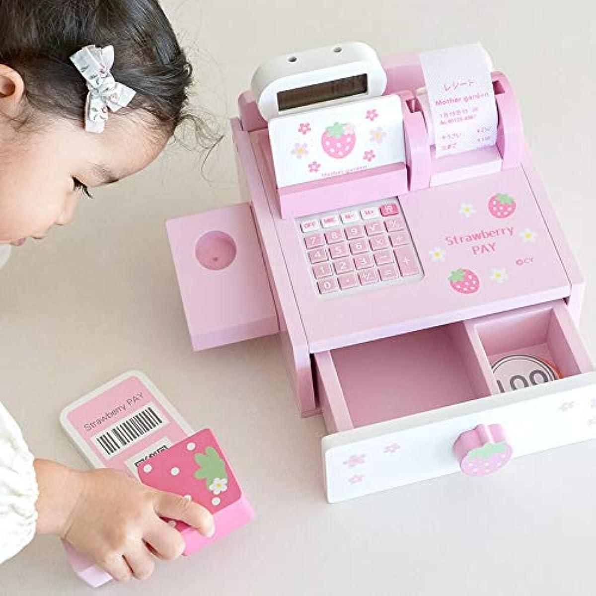 [해외] 마더 가든 나무의 소꿉놀이 딸기 레지스터 쇼핑 레지스터 캐쉬 레지스터 레지스터