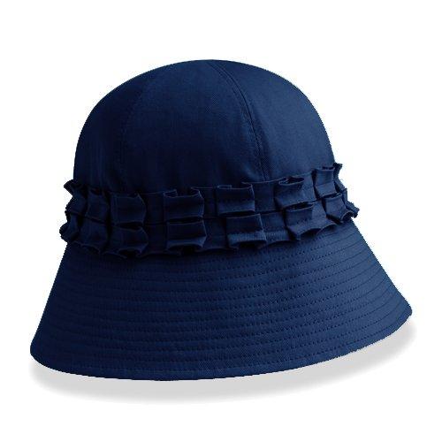 Betmar Gardenia Hat Navy