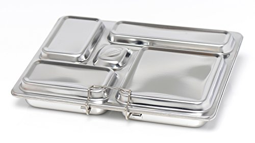 PlanetBox ROVER Eco-Friendly Stainless Steel Bento Lunch Box with 5 Compartments for Adults and Kids (Rockets Carry Bag with Rockets Magnets) by PlanetBox (Image #6)