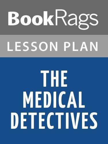 The Medical Detectives Lesson Plans Pdf