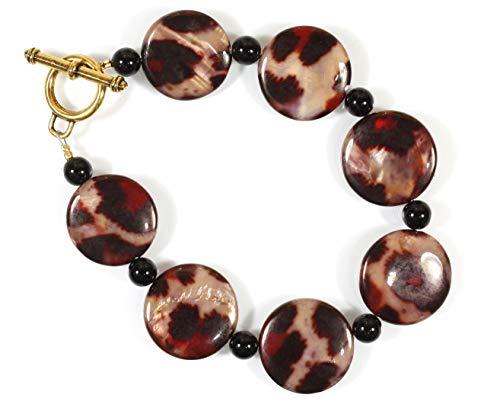 Onyx Necklace Toggle Black -