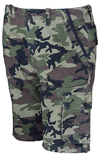 Quiksilver Woven Shorts - Quiksilver mens Everyday Deluxe Short, Deluxe Camouflage 2016 , 28