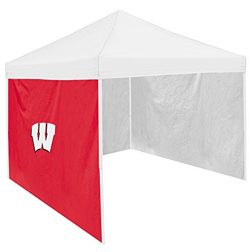 Logo Brands NCAA Wisconsin, UNIV of Side Panel, One Size, Multicolor by Logo Brands