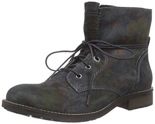 s.Oliver 25203 - botas chukka de cuero mujer gris - Grau (Graphite Multi 293)