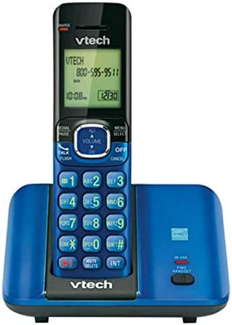 Vtech teléfono inalámbrico DECT 6.0 sistema (CS6519 – 15) con 1 terminal, color azul: Amazon.es: Electrónica