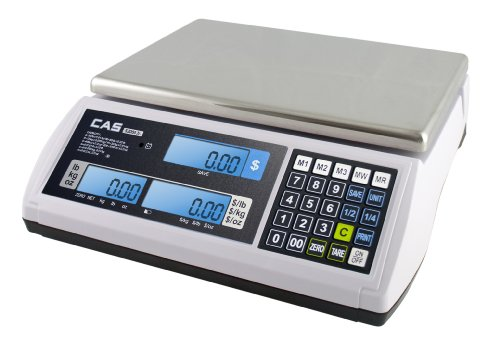 CAS-S-2000-Jr-Price-Computing-Scale-with-LCD-Display-60-lbs