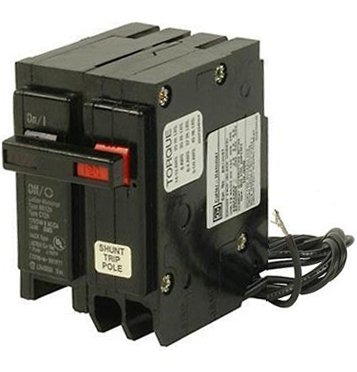 BR120ST 1 Pole, 20A, Plug-in, 120/240 VAC, Type BR Shunt Trip Circuit Breaker
