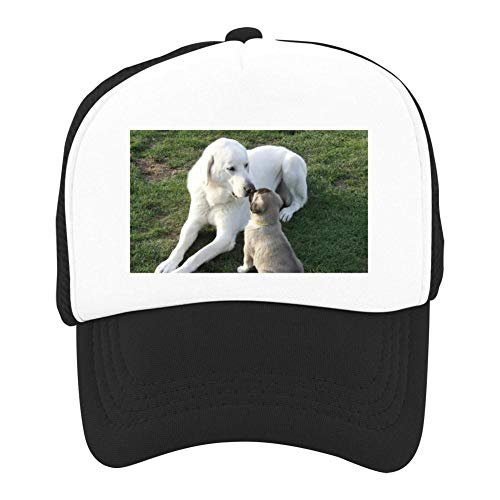 EThomasine Kids Girls Boys Mesh Cap Trucker Hats Anatolian Shepherd Adjustable Hat Black by EThomasine