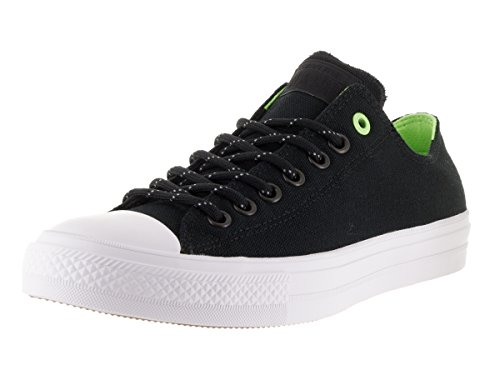 Converse Ctas Ii Ox Shield Mens Trainers Black White - 9 UK