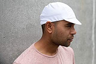 product image for Pace Sportswear Hex-Tek Cycling Cap - UPF 50 Plus, White, MD/LG