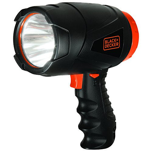 BLACK+DECKER SL3WAKB Compact 300 Lumen LED Spotlight Flashlight, Alkaline Battery Powered