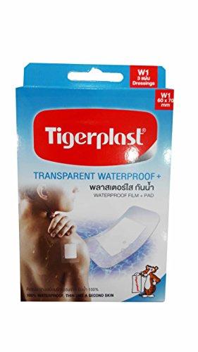 2-packs-of-tigerplast-transparent-waterproof-waterproof-film-pad-latex-free-acrylic-adhesive-non-sti