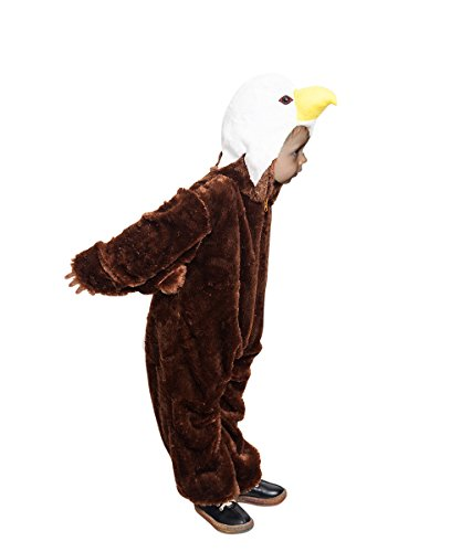 Eagle children-s halloween costume-s, girl-s boy-s kid-s, F125 Size: 8