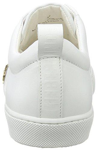 Liebeskind Berlin Lh173300 Snappa, Sneaker Donna Weiß (Cloud White)