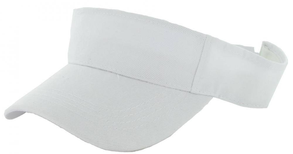 White_(US Seller)Outdoor Sport Hat Sun Cap Adjustable Velcro