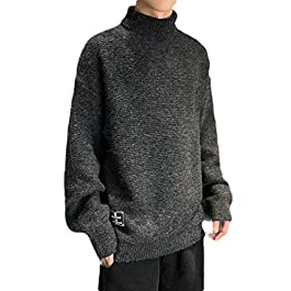Men's Warm  Knit Fall Winter Pullover Sweater
