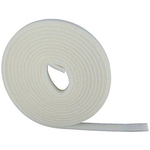 2 rouleaux Joint mousse disolation 6 m x 9 mm Blanc comprimer pose fen/être calefeutrage isolation