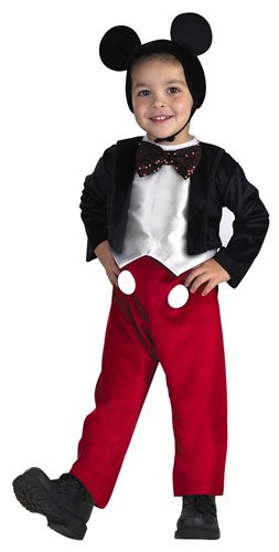 [MICKEY MOUSE DELUXE, Size: 4 to 6] (Halloween Costumes Mickey Mouse)