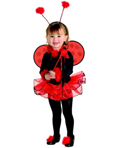 Ladybug Ballerina Child Costume Size 2-4 Toddler by Rubie's Costume Co (Image #1)