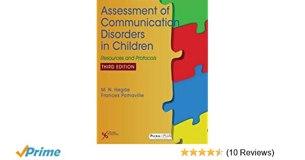 Amazon.com: Assessment of Communication Disorders in Children ...