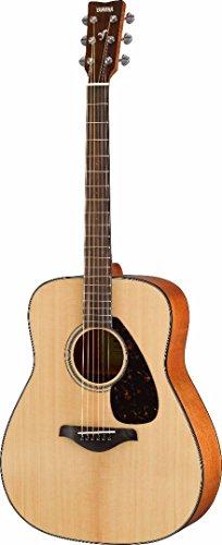 [해외]녹스 하드 쉘 케이스 & 앰프가 장착 된 Yamaha FG800 어쿠스틱 기타 /Yamaha FG800 Acoustic Guitar with Knox Hard Shell Case & Picks