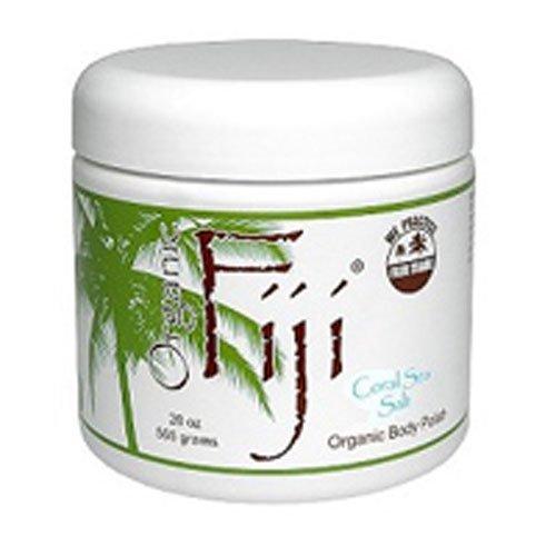 Coral Sea Salt, 20 OZ by Organic Fiji (Pack of 3)