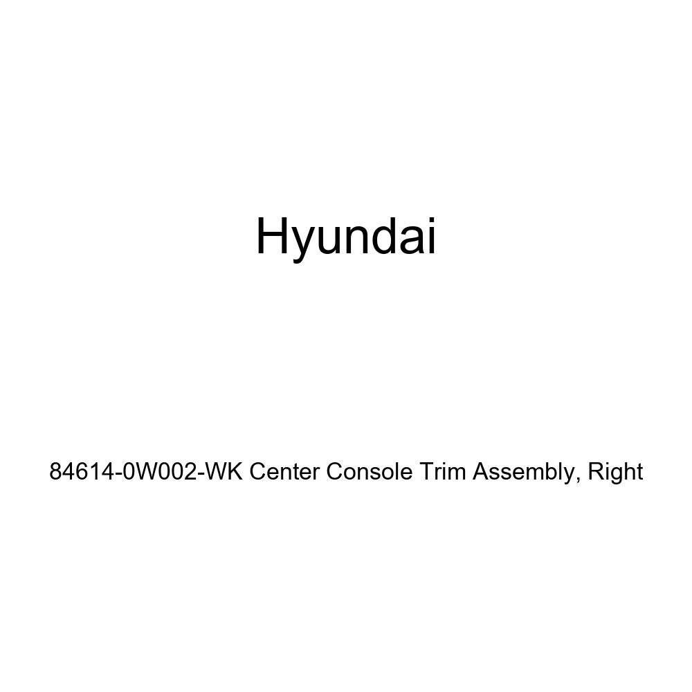 Genuine Hyundai 84614-0W002-WK Center Console Trim Assembly Right