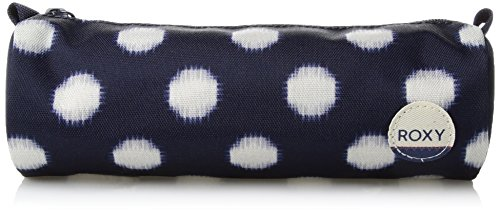 Roxy Junior's Charm School Pencil Pouch Case, small ikat dots combo peacoat, One Size (Roxy Charm)
