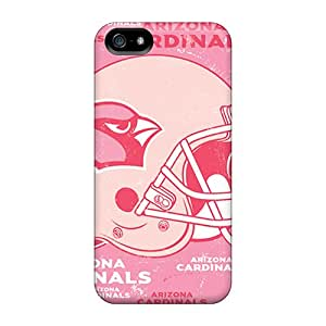 Excellent Design Arizona Cardinals Phone Case For Iphone 5/5s Premium Tpu Case