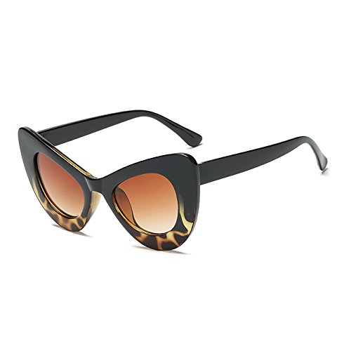 Goggles Resin Narrow Vintage Frame for Cat Black Sunglasses Gradient Sash Women Brown Clout Frame Eye Retro 8Sq1z1