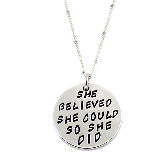 Gift Angelus believed Engraved Affirmation Inspirational