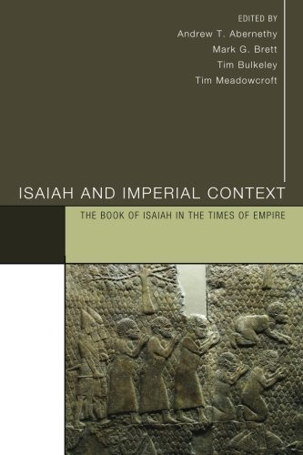 Isaiah and Imperial Context: The Book of Isaiah in the Times of ()