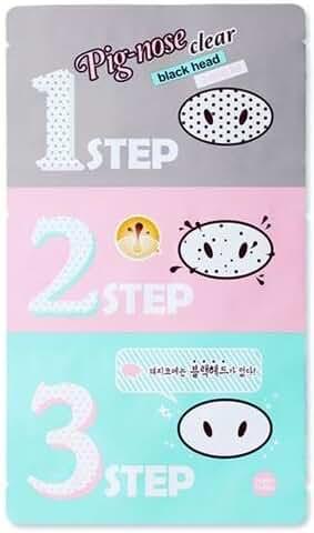 Holika Holika Pig Nose Clear Black Head 3-step Kit (5pcs) (Korean original)