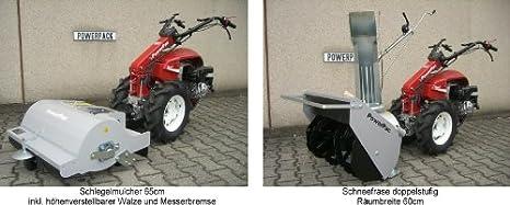 POWERPAC kam5 - einachser fresado Buzón 60 cm motoazada gartenfräse Motor Fresadora Honda 9 PS: Amazon.es: Bricolaje y herramientas