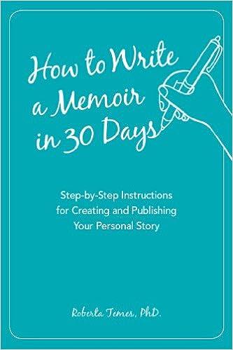 How to write a memoir book