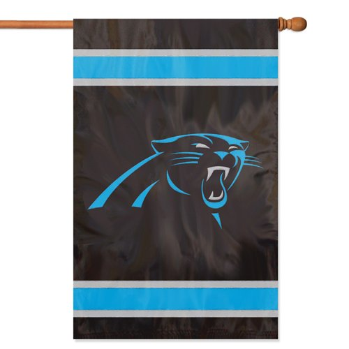 - Party Animal Carolina Panthers NFL Applique Banner Flag (44x28