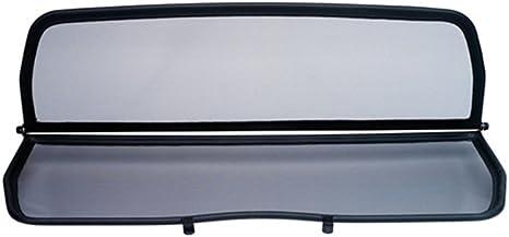 Filet Anti-Remous Coupe D/éflecteur dair D/éflecteur de vent pliable avec fermeture rapide noir pour Peugeot 308CC D/écapotable