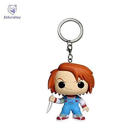 Llavero Infantil de Juguete Chucky Figura de acción Bobble ...