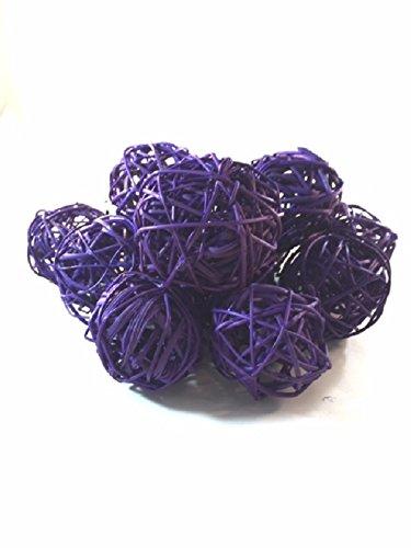 Purple Decorative Balls