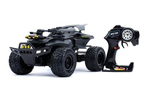 Jada Toys DC Comics Justice League Batmobile Elite 4×4 R/C with USB Charging and Batteries Included