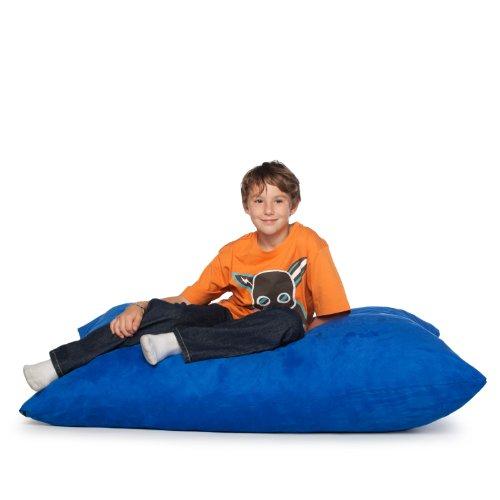 Jaxx 3.5 ft Pillow Saxx Kids Bean Bag, Blueberry
