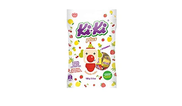 Amazon.com : Kiki PLUS Toffee Candy, 100g : Gummy Candy : Grocery & Gourmet Food